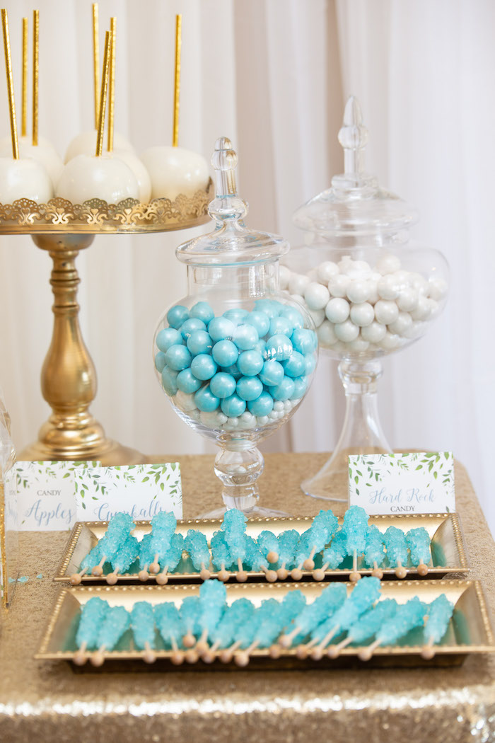 Sweets from an Oh Baby! Glamorous Garden Baby Shower on Kara's Party Ideas | KarasPartyIdeas.com (13)