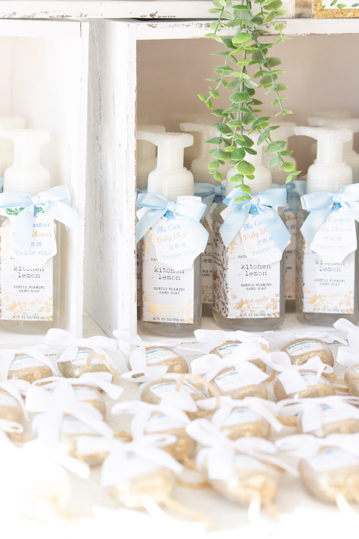 Soap Favors from an Oh Baby! Glamorous Garden Baby Shower on Kara's Party Ideas | KarasPartyIdeas.com (26)