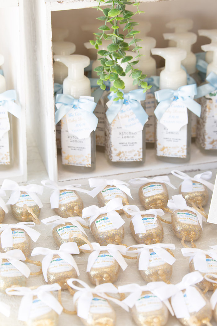 Favors from an Oh Baby! Glamorous Garden Baby Shower on Kara's Party Ideas | KarasPartyIdeas.com (25)