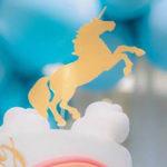 Pastel Blue & Turquoise Unicorn Party on Kara's Party Ideas | KarasPartyIdeas.com (2)
