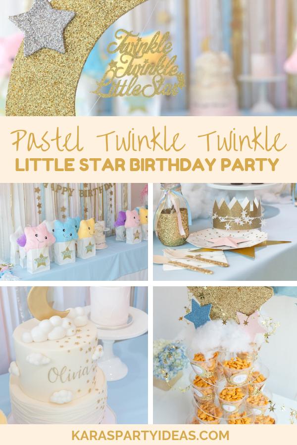 Twinkle Twinkle Little Star Birthday Decorations Boy