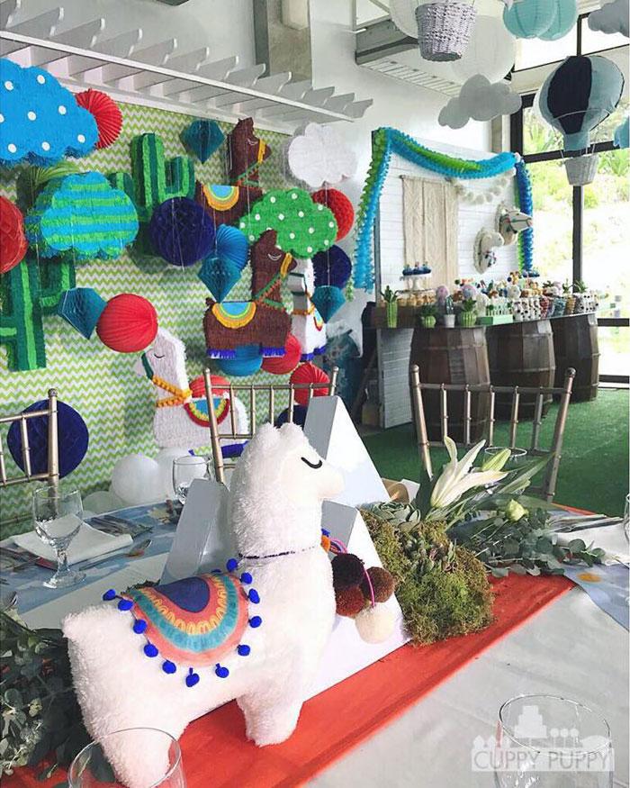 Peruvian Llama Birthday Party on Kara's Party Ideas   KarasPartyIdeas.com (24)