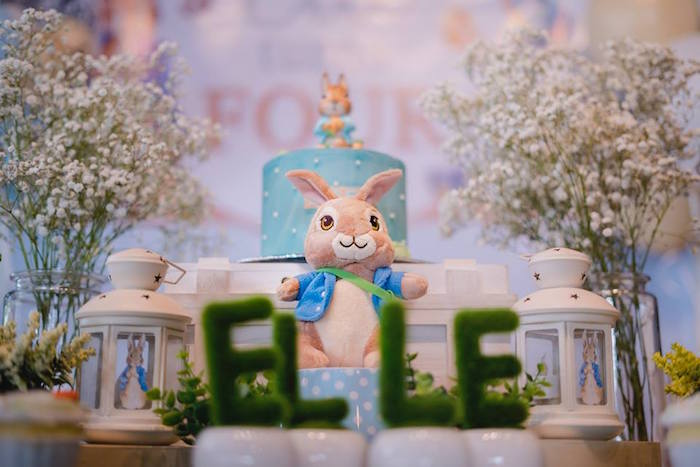 Peter Rabbit Birthday Party on Kara's Party Ideas | KarasPartyIdeas.com (19)