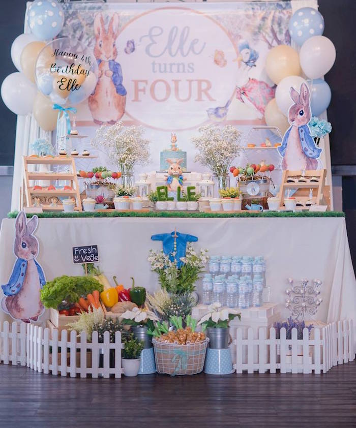 Peter Rabbit Birthday Party on Kara's Party Ideas | KarasPartyIdeas.com (15)