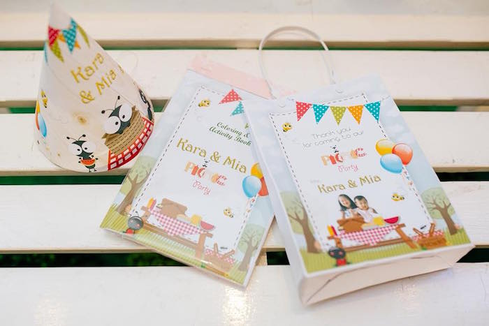Picnic Party Favors + Signage from a Picnic Birthday Party on Kara's Party Ideas | KarasPartyIdeas.com (4)