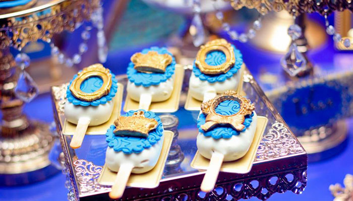 Cake Popsicles from a Royal Prince Birthday Party on Kara's Party Ideas | KarasPartyIdeas.com (13)