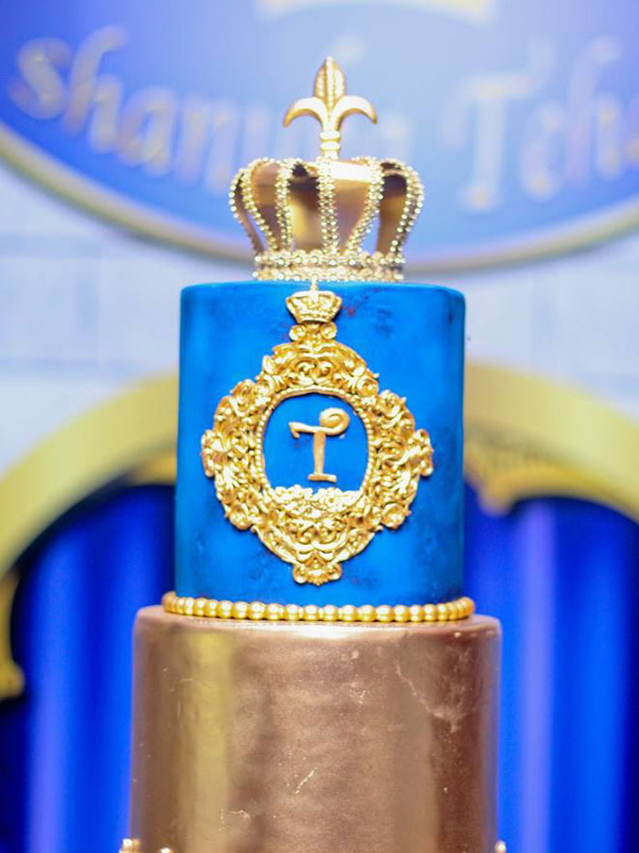 Royal Prince Cake from a Royal Prince Birthday Party on Kara's Party Ideas | KarasPartyIdeas.com (27)