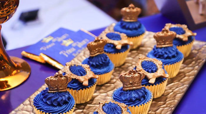 Royal Prince Cupcakes from a Royal Prince Birthday Party on Kara's Party Ideas | KarasPartyIdeas.com (25)