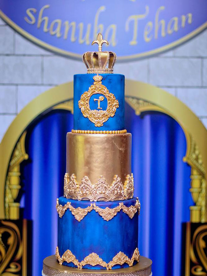 Royal Prince Cake from a Royal Prince Birthday Party on Kara's Party Ideas | KarasPartyIdeas.com (19)