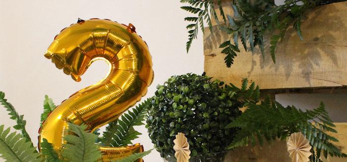 Rustic Dinosaur Birthday Party on Kara's Party Ideas   KarasPartyIdeas.com (1)