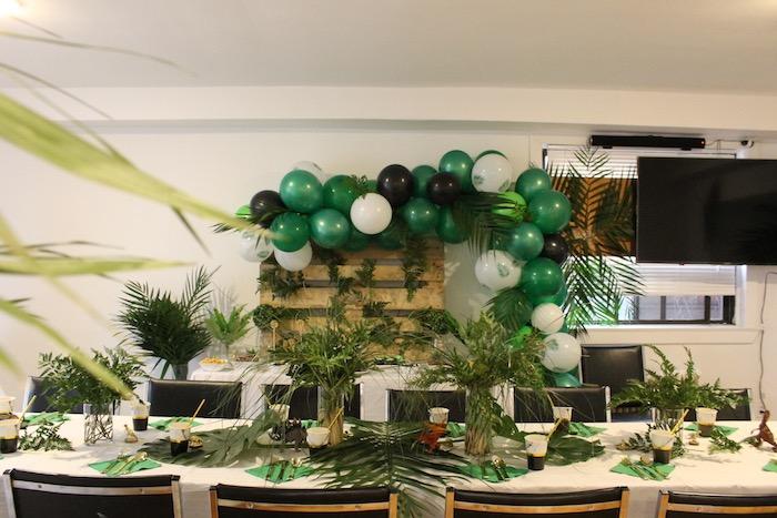 Rustic Dinosaur Birthday Party on Kara's Party Ideas | KarasPartyIdeas.com (23)