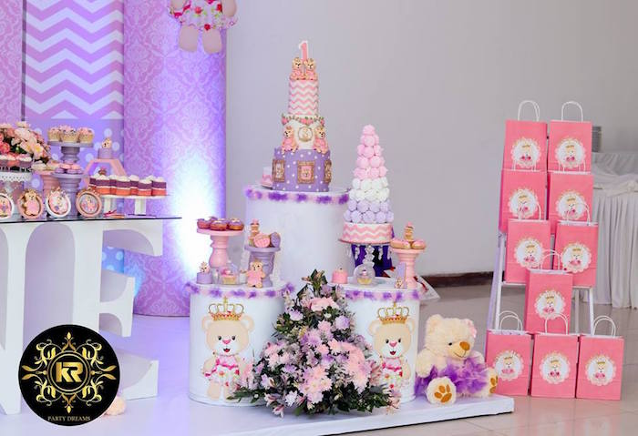 Teddy Bear Princess Party on Kara's Party Ideas | KarasPartyIdeas.com (20)