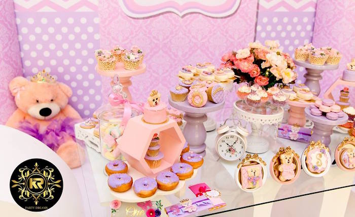 Teddy Bear Princess Party on Kara's Party Ideas | KarasPartyIdeas.com (19)