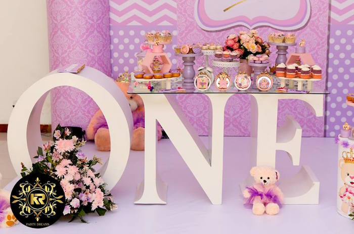 Teddy Bear Princess Party on Kara's Party Ideas | KarasPartyIdeas.com (17)