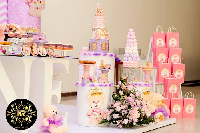 Teddy Bear Princess Party on Kara's Party Ideas | KarasPartyIdeas.com (14)