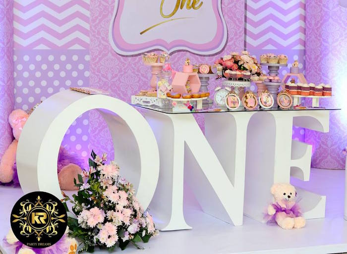 Teddy Bear Princess Party on Kara's Party Ideas | KarasPartyIdeas.com (8)