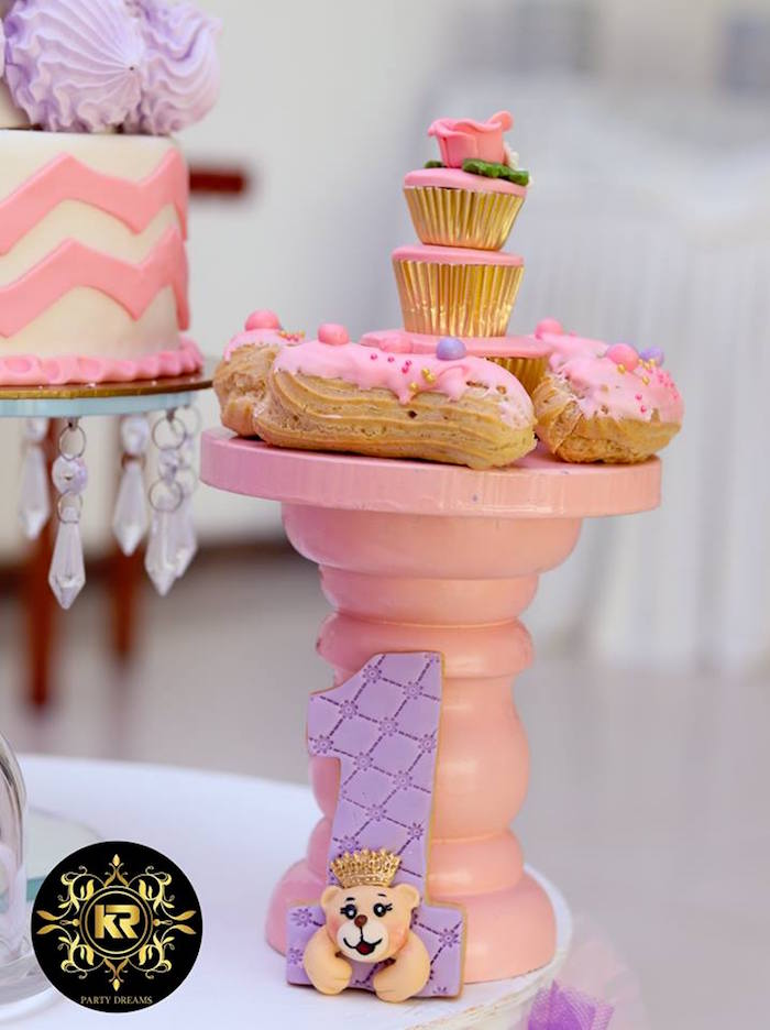 Teddy Bear Princess Party on Kara's Party Ideas | KarasPartyIdeas.com (6)