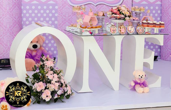 Teddy Bear Princess Party on Kara's Party Ideas | KarasPartyIdeas.com (5)