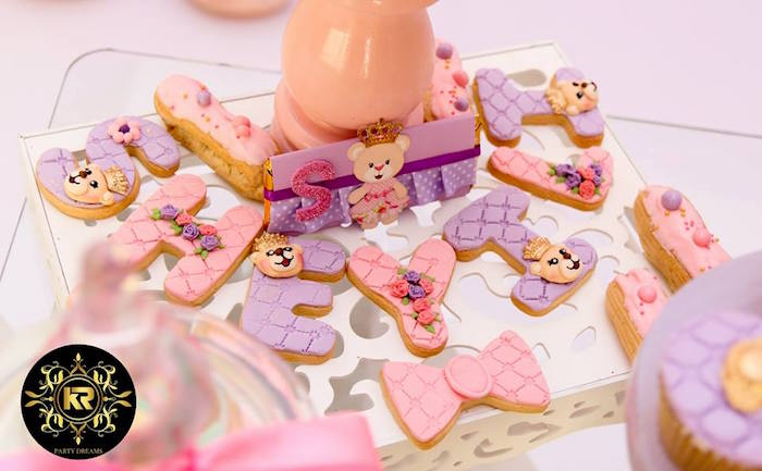 Teddy Bear Princess Party on Kara's Party Ideas | KarasPartyIdeas.com (3)