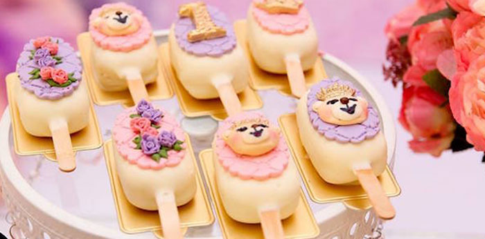 Teddy Bear Princess Party on Kara's Party Ideas | KarasPartyIdeas.com (1)