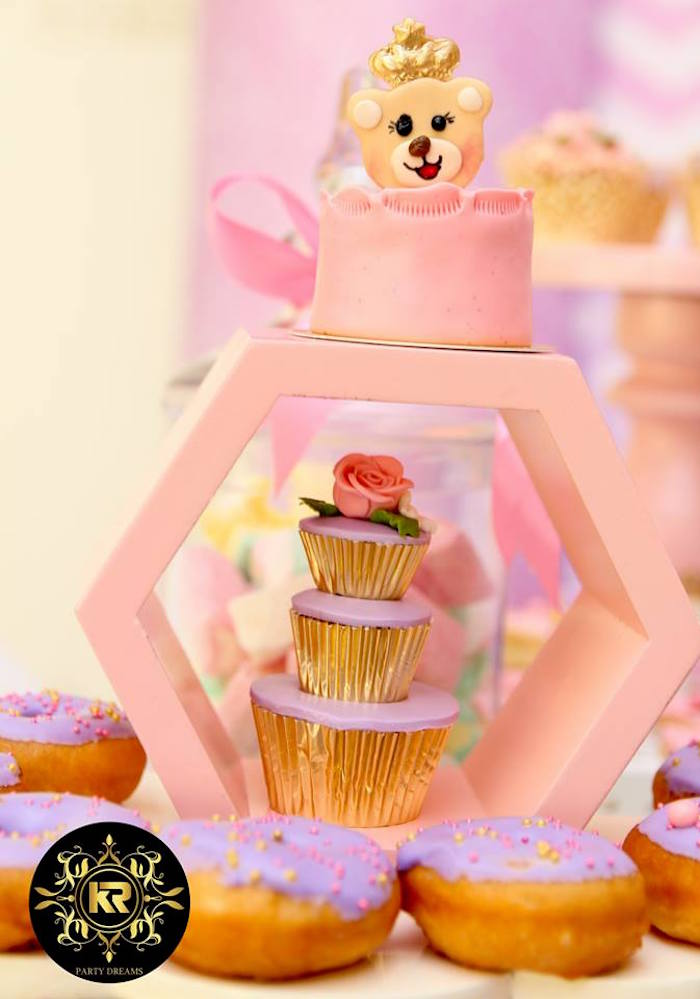 Sweets & Treats from a Teddy Bear Princess Party on Kara's Party Ideas | KarasPartyIdeas.com (28)