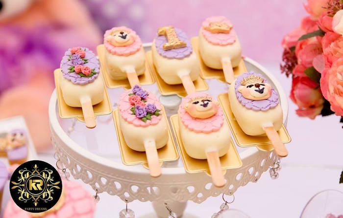 Teddy Bear Princess Party on Kara's Party Ideas | KarasPartyIdeas.com (27)