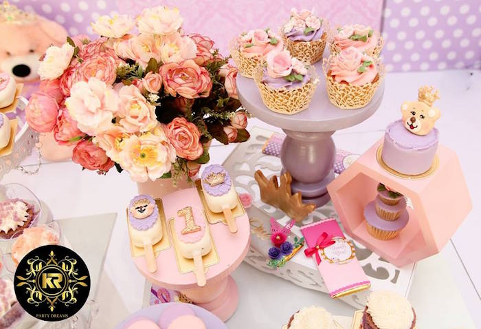 Teddy Bear Princess Party on Kara's Party Ideas | KarasPartyIdeas.com (25)
