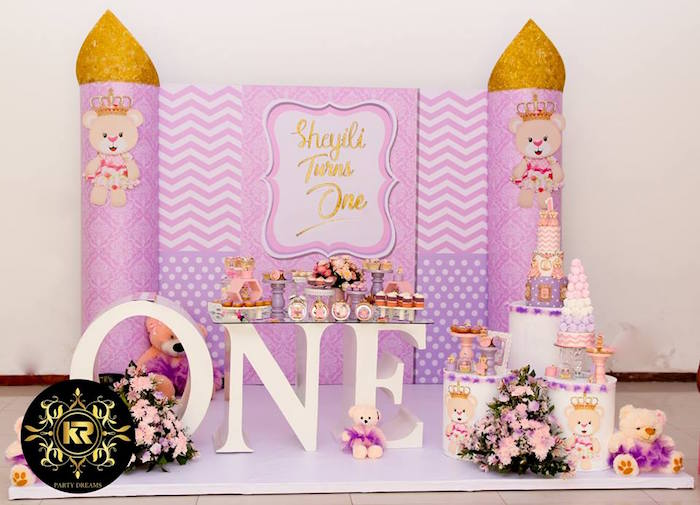 Teddy Bear Princess Party on Kara's Party Ideas | KarasPartyIdeas.com (24)