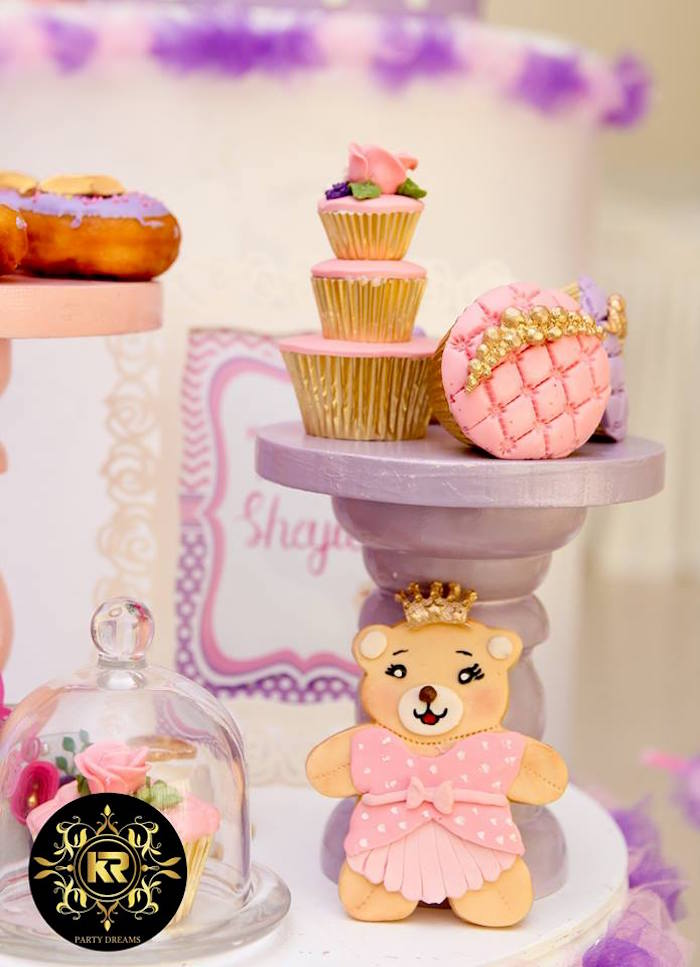 Teddy Bear Princess Party on Kara's Party Ideas | KarasPartyIdeas.com (23)