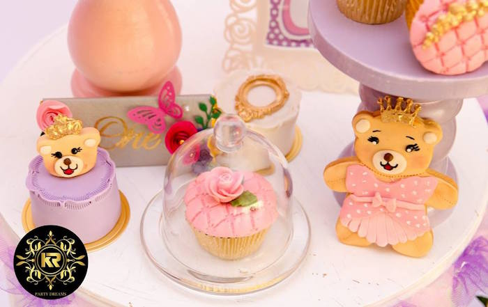 Teddy Bear Princess Party on Kara's Party Ideas | KarasPartyIdeas.com (22)