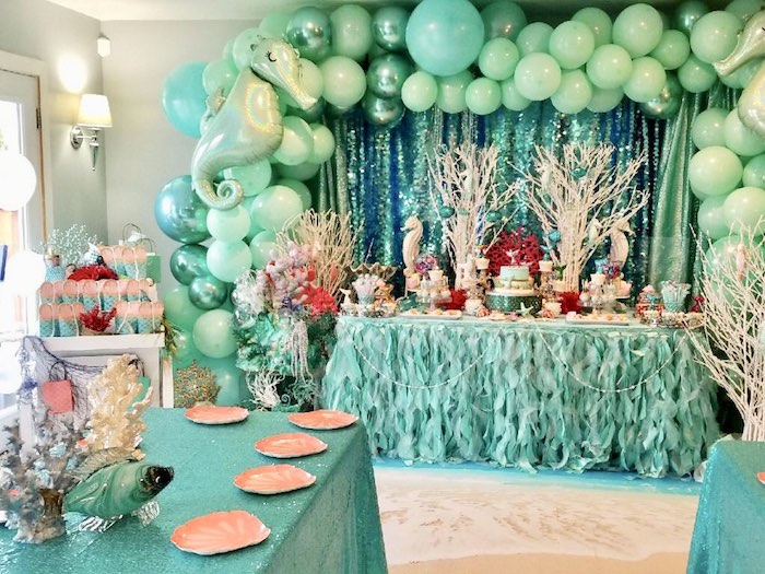 Under the Sea Birthday Party on Kara's Party Ideas | KarasPartyIdeas.com (4)