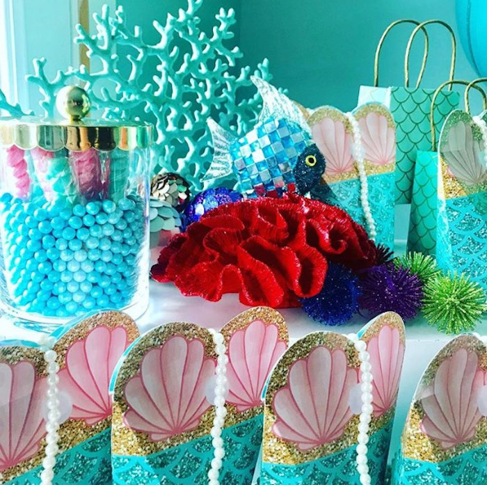 Under the Sea Party Decor from an Under the Sea Birthday Party on Kara's Party Ideas | KarasPartyIdeas.com (3)