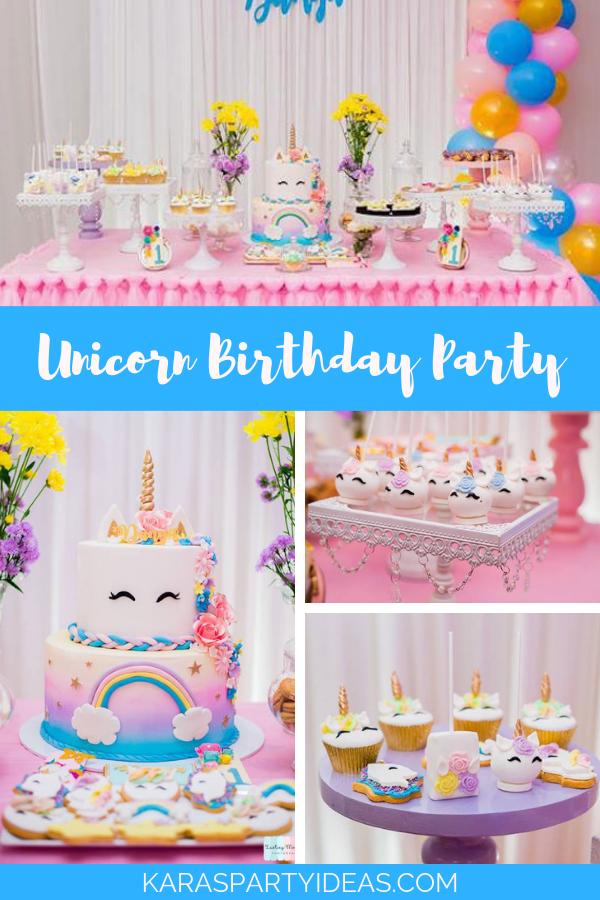 Unicorn Birthday Party 2b via Kara's Party Ideas - KarasPartyIdeas