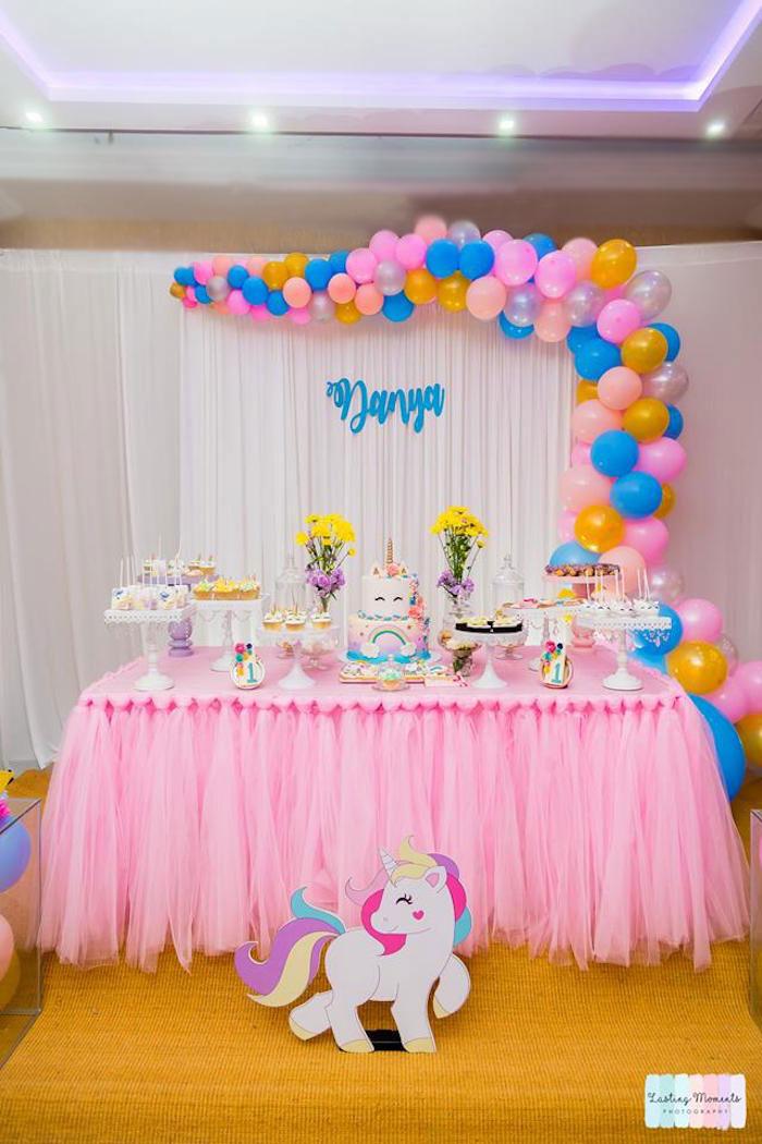 Unicorn Birthday Party on Kara's Party Ideas | KarasPartyIdeas.com (9)