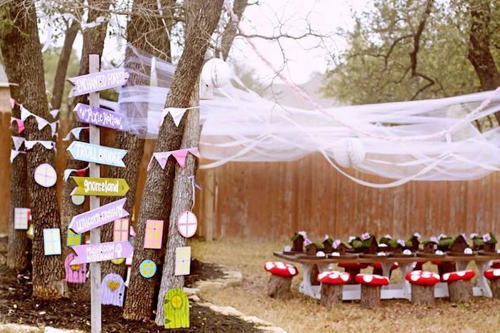 Woodland Fairy Party on Kara's Party Ideas | KarasPartyIdeas.com (38)