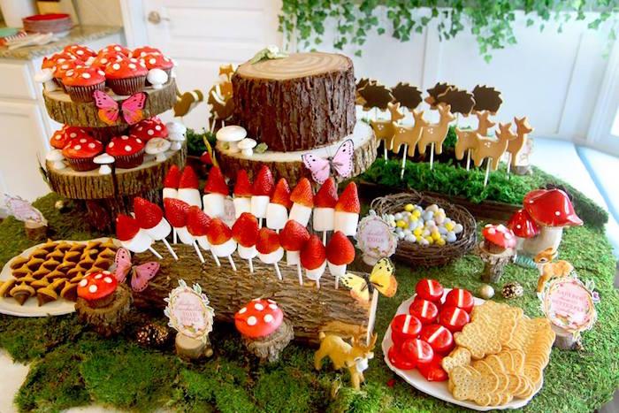 Woodland Fairy Party on Kara's Party Ideas | KarasPartyIdeas.com (18)