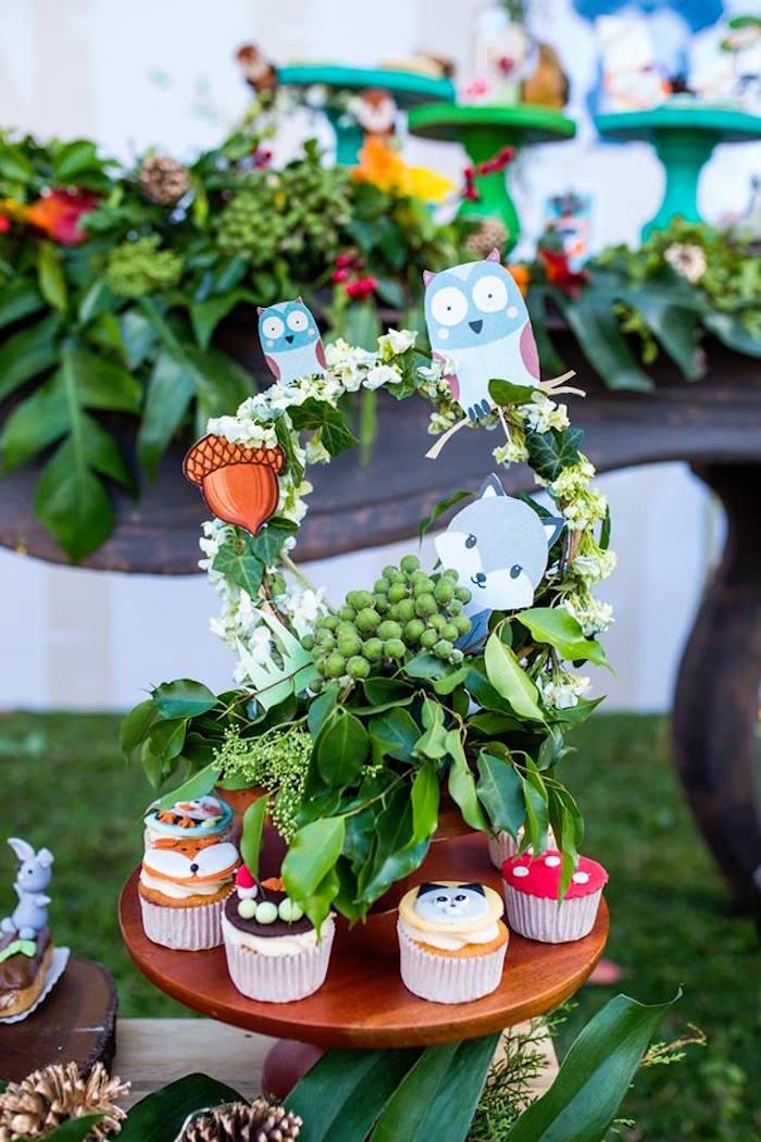 Woodland Wonder Birthday Party on Kara's Party Ideas | KarasPartyIdeas.com (24)
