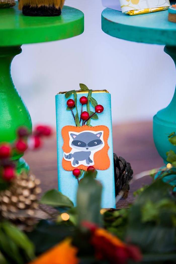 Woodland Candy Bar from a Woodland Wonder Birthday Party on Kara's Party Ideas | KarasPartyIdeas.com (22)