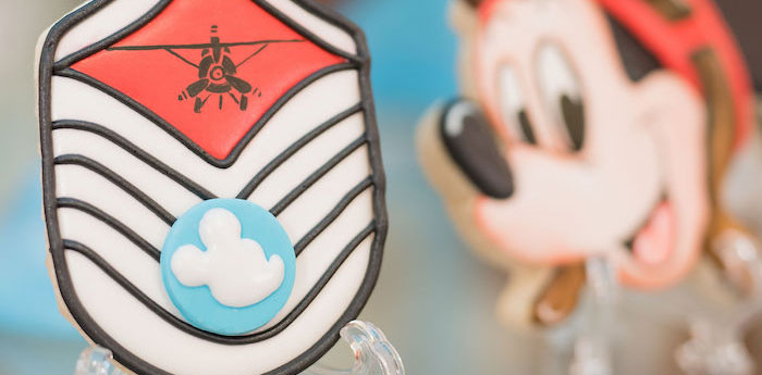 Aviator Mickey Mouse Birthday Party on Kara's Party Ideas | KarasPartyIdeas.com (1)