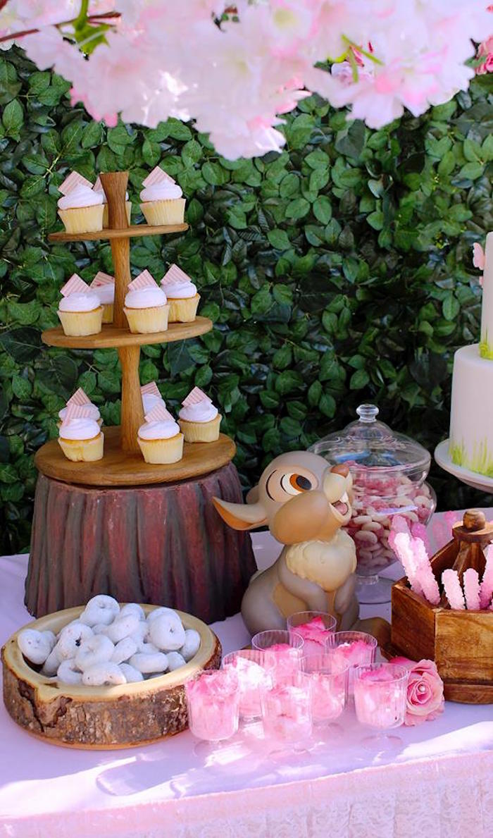 Kara S Party Ideas Bambi Inspired Woodland Birthday Party