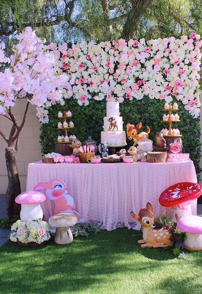 Bambi Inspired Woodland Birthday Party on Kara's Party Ideas | KarasPartyIdeas.com (12)