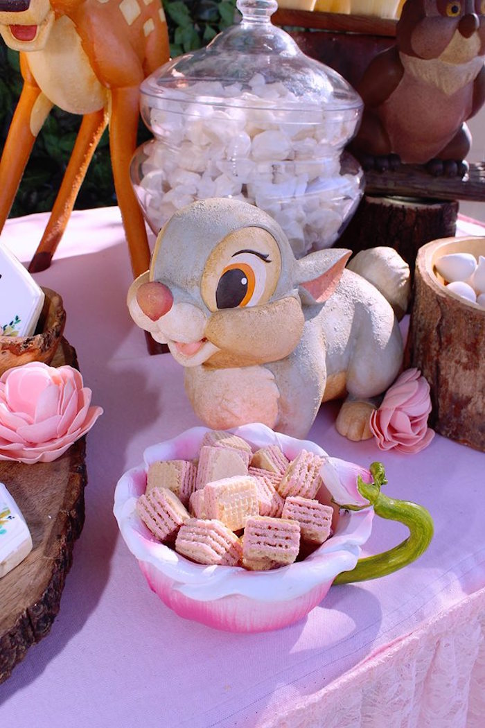 Thumper's Wafers from a Bambi Inspired Woodland Birthday Party on Kara's Party Ideas | KarasPartyIdeas.com (7)