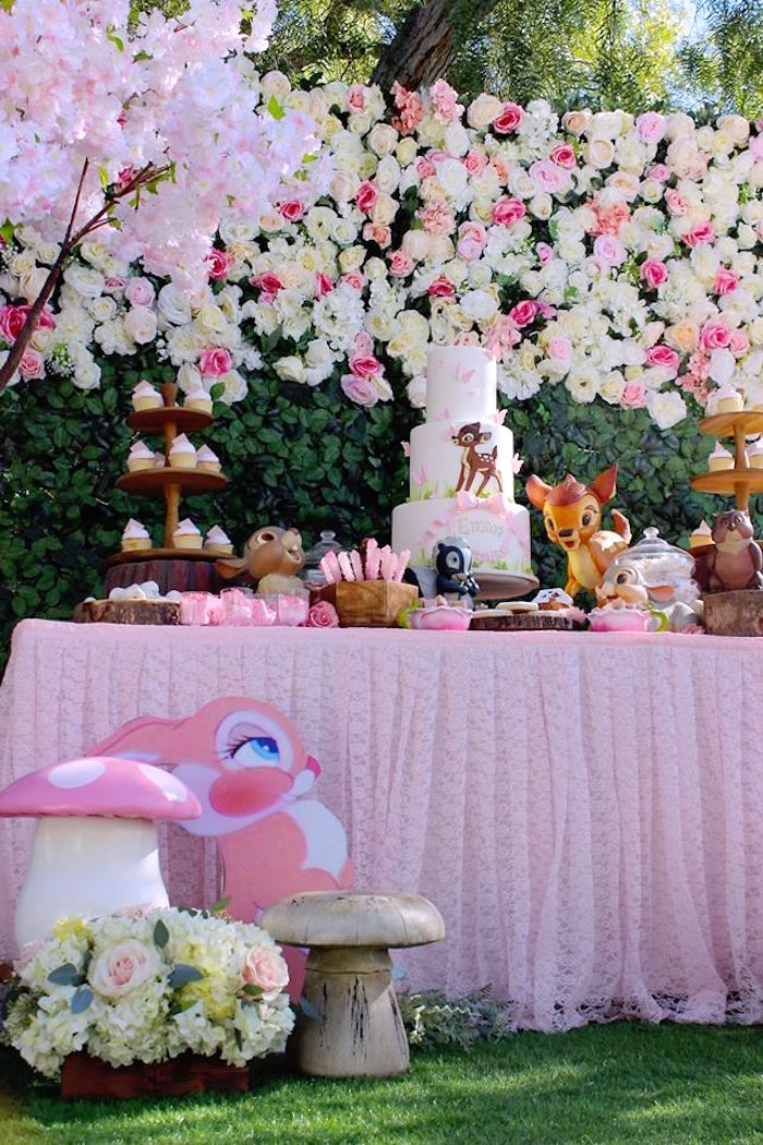 Bambi Inspired Woodland Birthday Party on Kara's Party Ideas | KarasPartyIdeas.com (20)