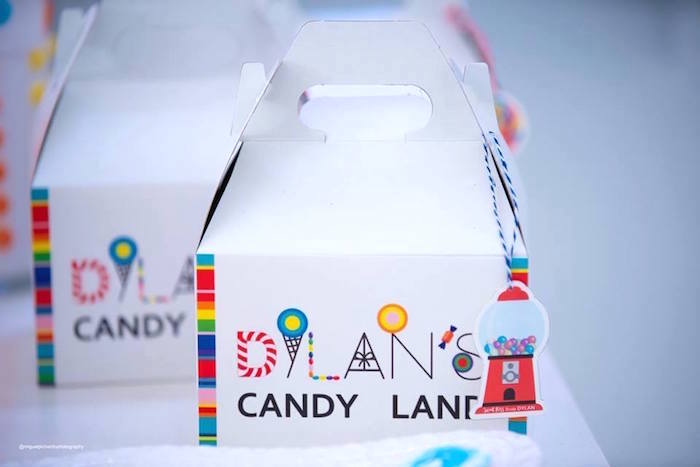 Candy Themed Gable Lunchbox from Dylan's Candy Bar Inspired Birthday Party on Kara's Party Ideas | KarasPartyIdeas.com (21)