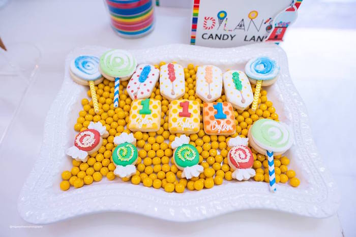 Candy Themed Cookies from Dylan's Candy Bar Inspired Birthday Party on Kara's Party Ideas | KarasPartyIdeas.com (18)