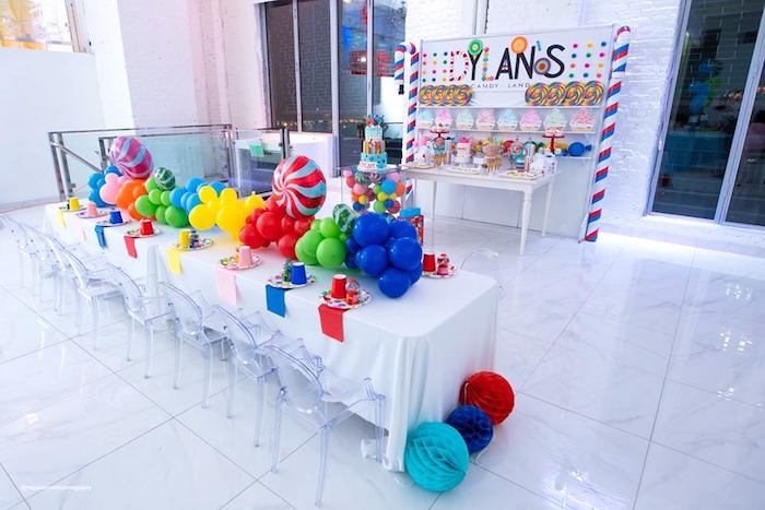Dylan's Candy Bar Inspired Birthday Party on Kara's Party Ideas | KarasPartyIdeas.com (30)