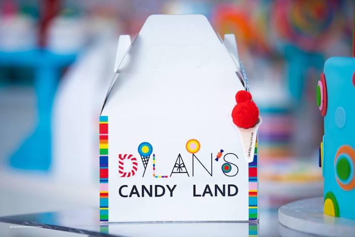 Candy Land Lunch Box from Dylan's Candy Bar Inspired Birthday Party on Kara's Party Ideas | KarasPartyIdeas.com (9)