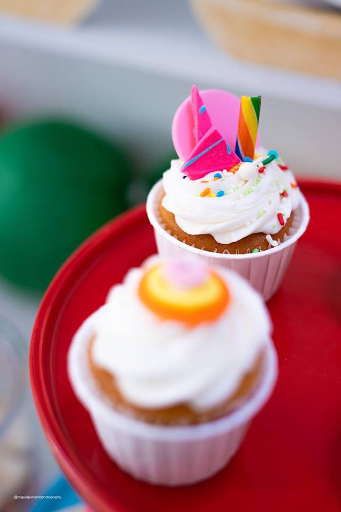 Candy Cupcake from Dylan's Candy Bar Inspired Birthday Party on Kara's Party Ideas | KarasPartyIdeas.com (28)