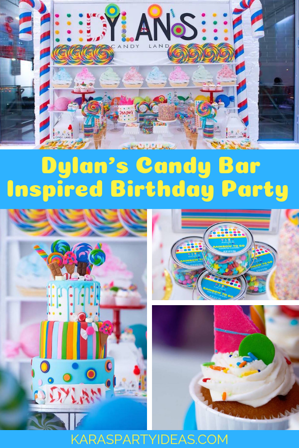 Dylan's Candy Bar Inspired Birthday Party via Kara's Party Ideas - KarasPartyIdeas.com