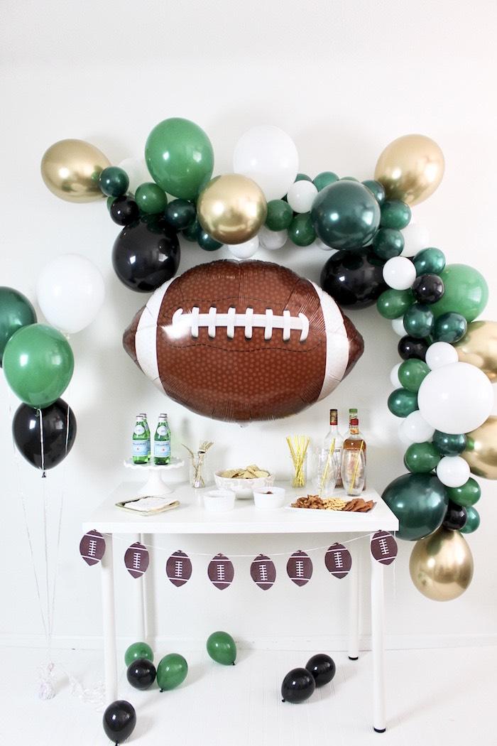 Football Party Drink & Snack Bar on Kara's Party Ideas | KarasPartyIdeas.com (6)